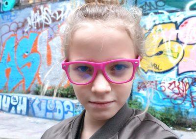 My Blue Pop taille S lunettes anti-lumière bleue pour écran