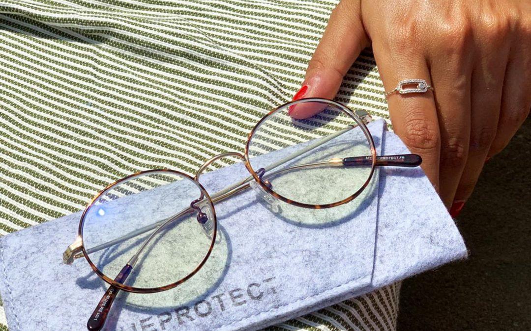 Les lunettes anti-lumière bleue, même en vacances !
