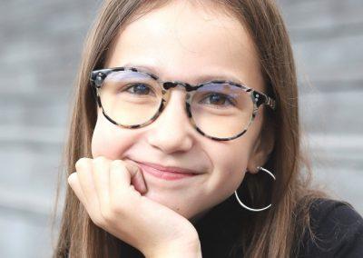 VINTAGE S lunettes anti-lumière bleue pour écran, pour les 8/12 ans.