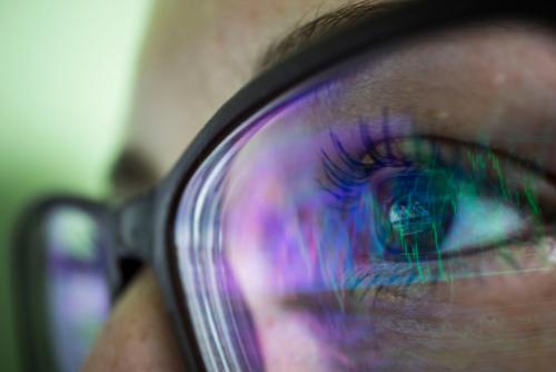 lentilles et lunettes anti-lumière bleue my blue protect