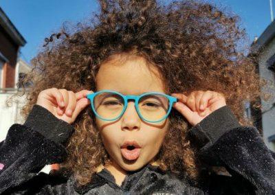My Little Vintage lunettes anti-lumière bleue pour écran, enfant 3/7 ans.